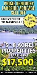 Tennessee National, Wats Bar Lake, TN Real Estate for Sale